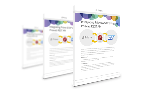 Priava & SAP Integration