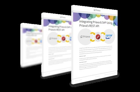 Priava & SAP Integration