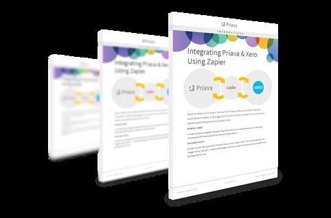 Priava & Xero Integration